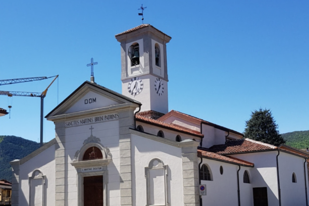 Bruino, terminati i lavori di restauro della chiesa di San Martino
