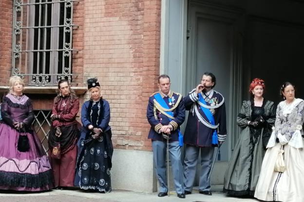 Torino, il Gruppo Storico di Reano a Palazzo Cisterna