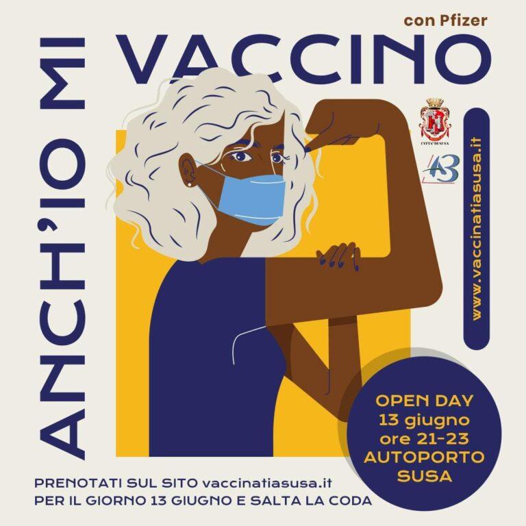 Vaccini, domenica 13 giugno c'è l'Open Day dedicato ai residenti nelle valli di Susa e Sangone