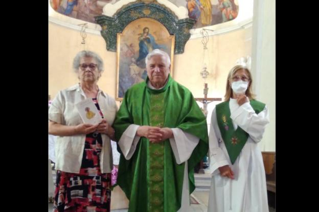 """Rubiana, dopo 35 anni come catechista Orsolina va in """"pensione"""""""