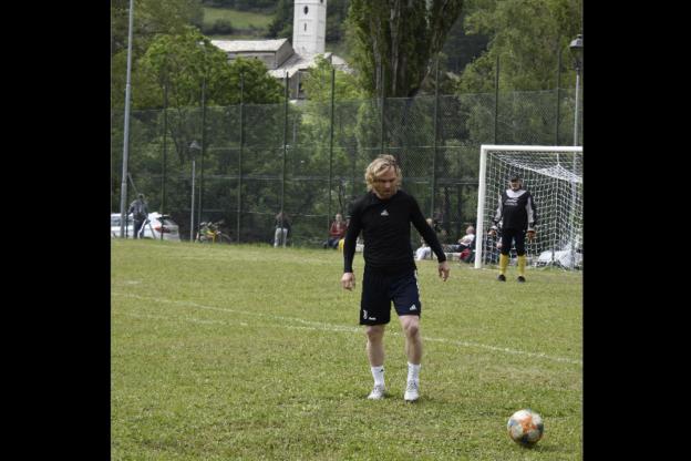 """Una """"Furia ceca"""" a Salbertrand: Pavel Nedved ha giocato in paese"""