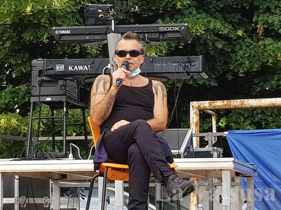 Piero Pelù a Condove