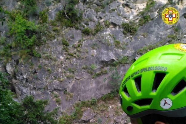 Orrido di Foresto, escursionista cade nel torrente: soccorso, sta bene