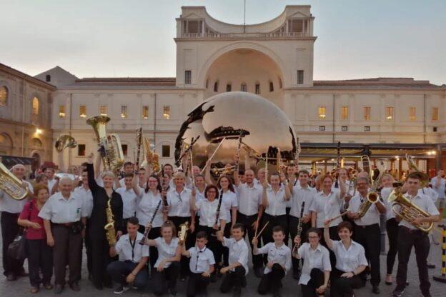 La Filarmonica Borgonese torna a esibirsi per la Sagra dell'Olio Valsusa