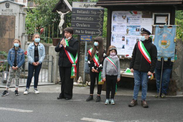 Per il 2 giugno a Mattie tre giovani sindaci affiancano la Sindaca Pittau