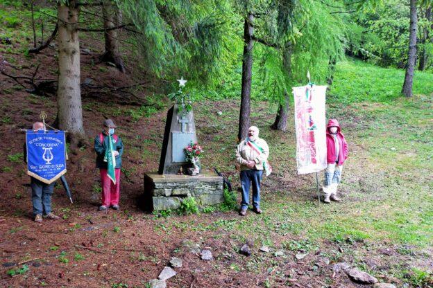 Al rifugio Geat di San Giorio per il 2 giugno ed il ricordo dei Martiri del Gravio