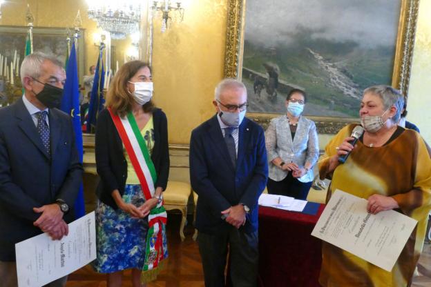 La valsusina Donatella Giunti è stata nominata cavaliere
