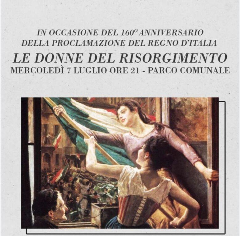 """""""Le donne del Risorgimento"""", appuntamento a Giaveno il 7 luglio"""