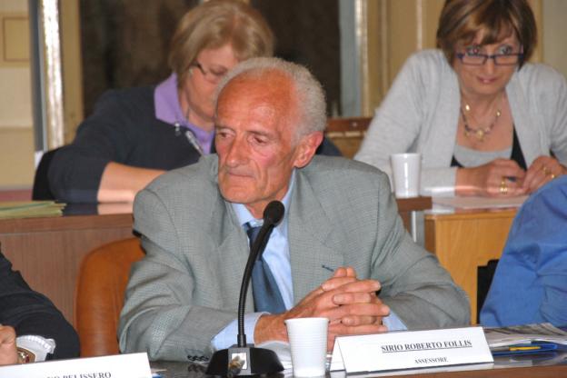 Susa, addio a Sirio Roberto Follis, un'intera vita in Comune