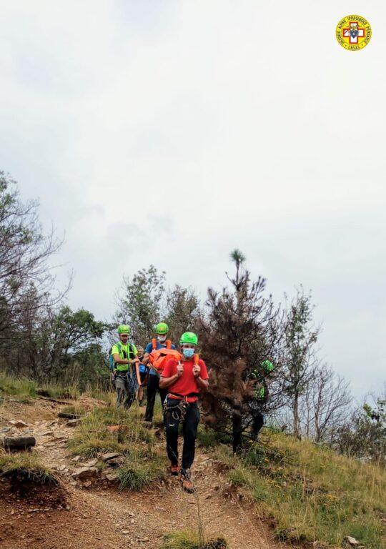 Donna si ferisce cadendo sul Monte Musinè