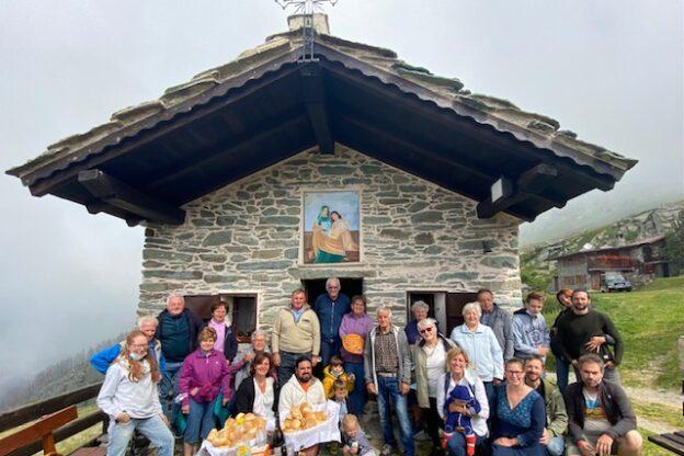 La festa dei Santi Gioacchino e Anna a Mompantero