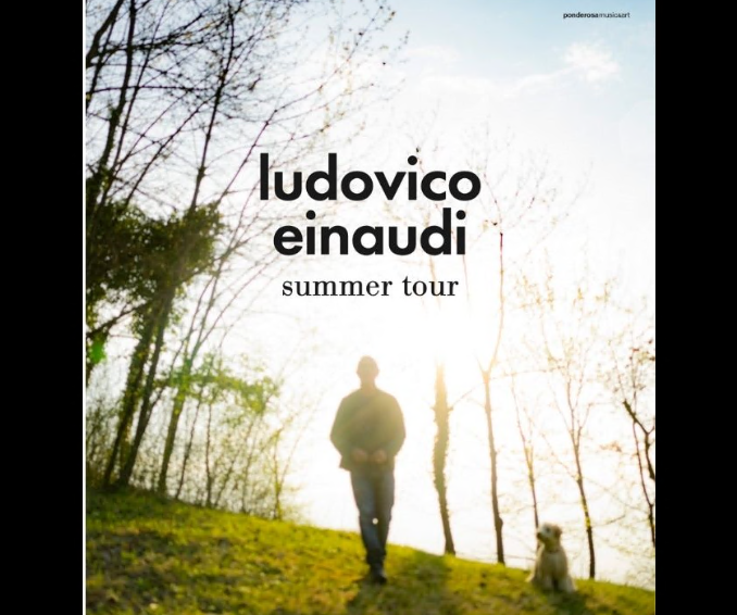 """Bardonecchia, Ludovico Einaudi in concerto per """"Borgate dal Vivo"""""""
