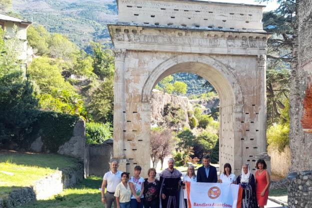 Susa ottiene la Bandiera Arancione del Touring Club Italiano