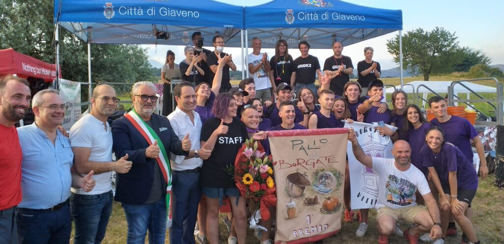 Giaveno, al Palio delle Borgate 2021 trionfa Villanova