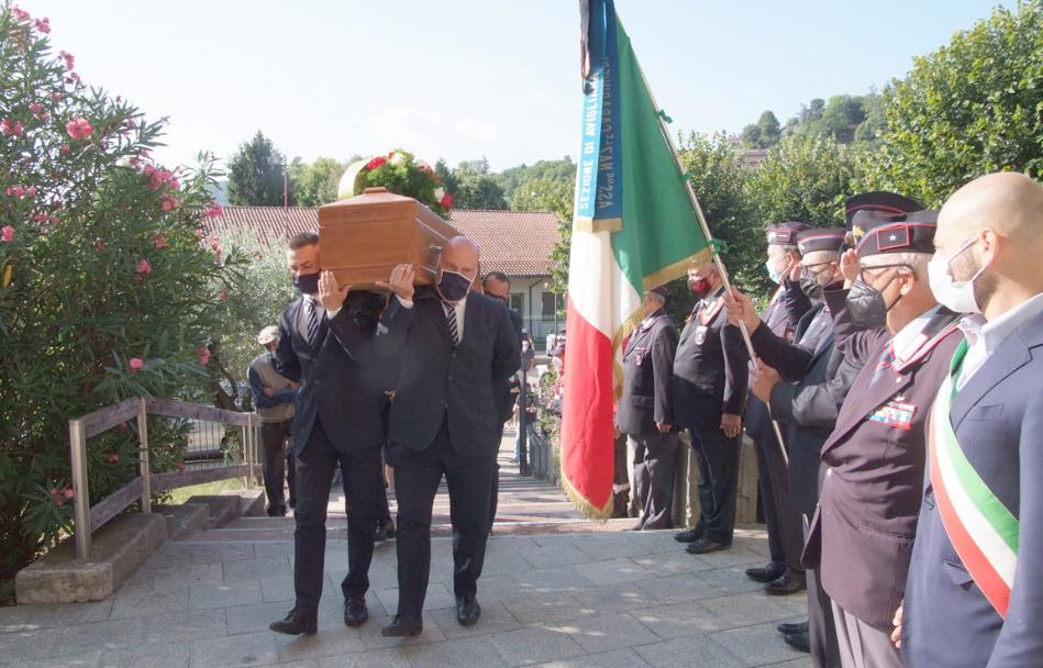 Avigliana ha detto addio al capitano dei Carabinieri Boggio