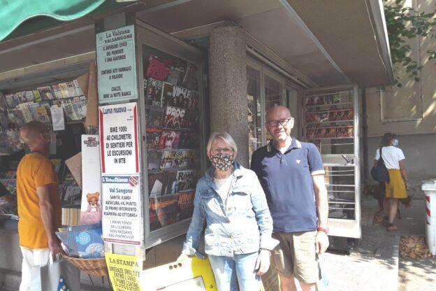Franca e Cristian, da 40 anni al servizio dell'informazione e dei giavenesi