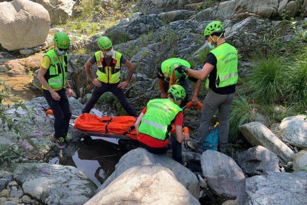 Almese, escursionista si ferisce a una gamba alla Goja del Piss