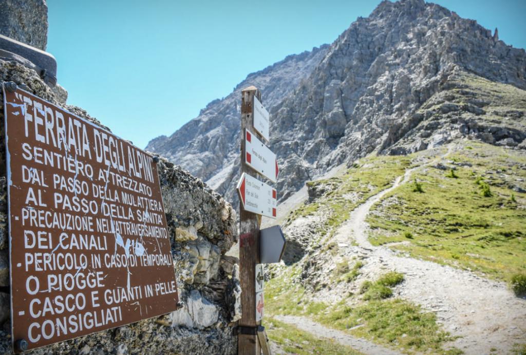 """Oulx, inaugurato il sentiero """"Brigata Alpina Taurinense"""""""