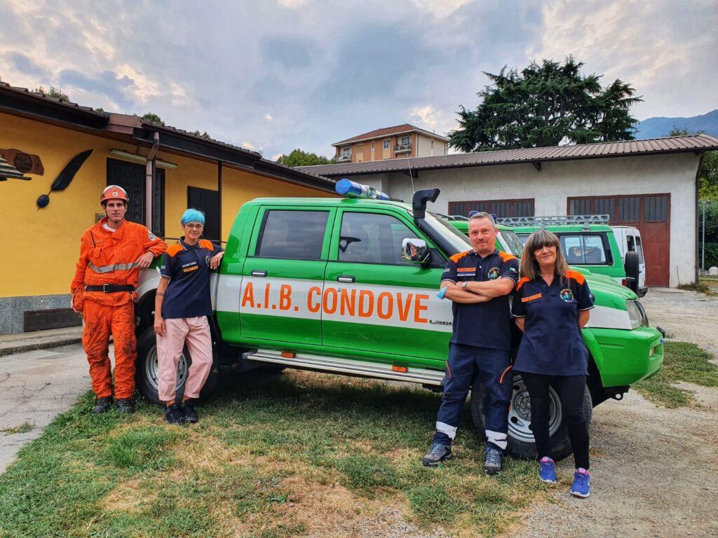 La squadra Aib di Condove presenta il nuovo direttivo