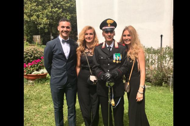 Oulx, il luogotenente dei Carabinieri Genovese è andato in pensione