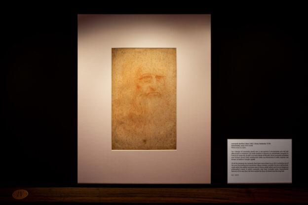 Torino, dal 25 settembre al 3 ottobre torna visibile l'Autoritratto di Leonardo
