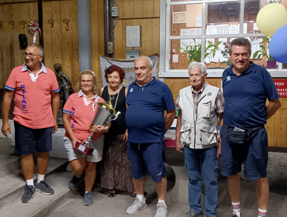 Bussoleno, la Bocciofila Favro Paris compie cento anni