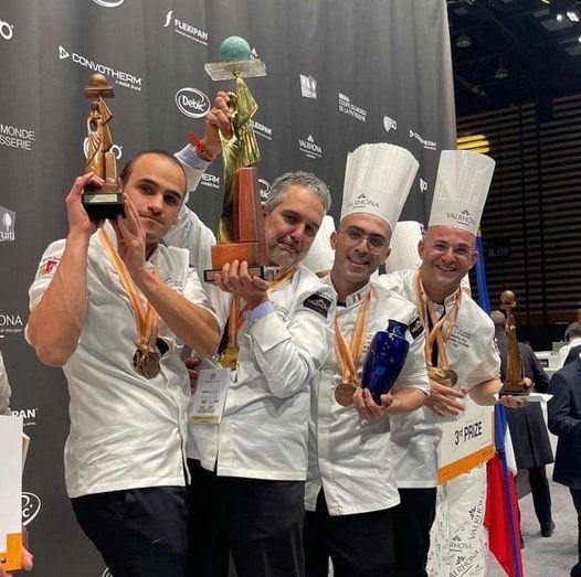 Grazie anche a Dalmasso di Avigliana l'Italia ha vinto i Campionati del Mondo di Pasticceria