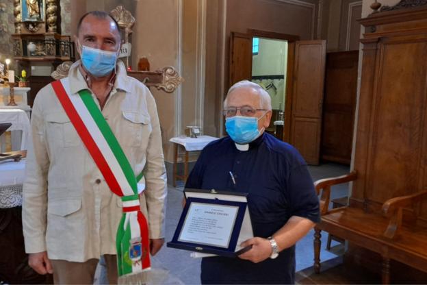 Giaglione ha festeggiato i 45 anni di sacerdozio di don Daniele Giglioli