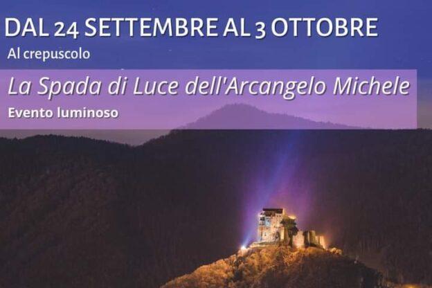 Proietta e Spacecannon proietteranno San Michele sulla Sacra