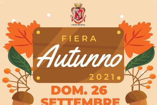 Susa, domenica 26 settembre c'è la Fiera d'autunno