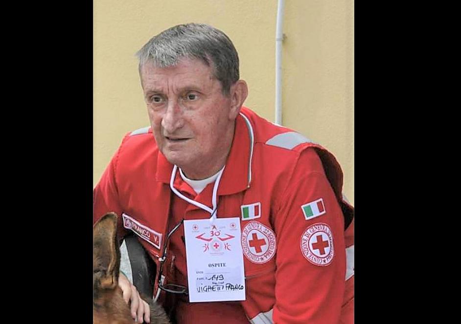 Avigliana ha detto addio a Franco Vighetti, una colonna della Croce Rossa