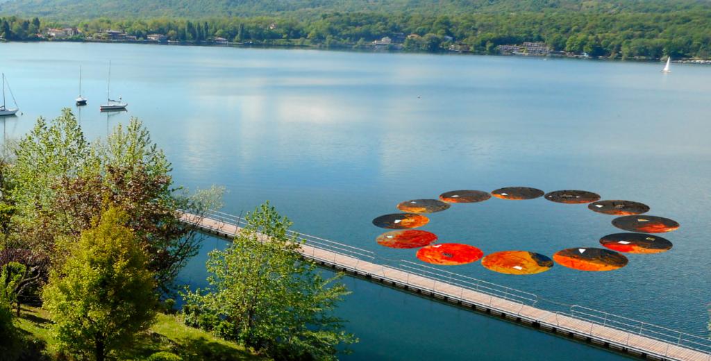 Avigliana, presto un'opera d'arte sul Lago Grande