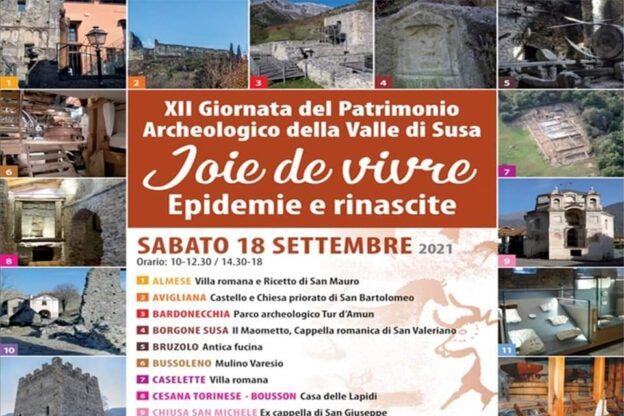 Sabato 18 settembre è la Giornata del Patrimonio Archeologico della Valle di Susa