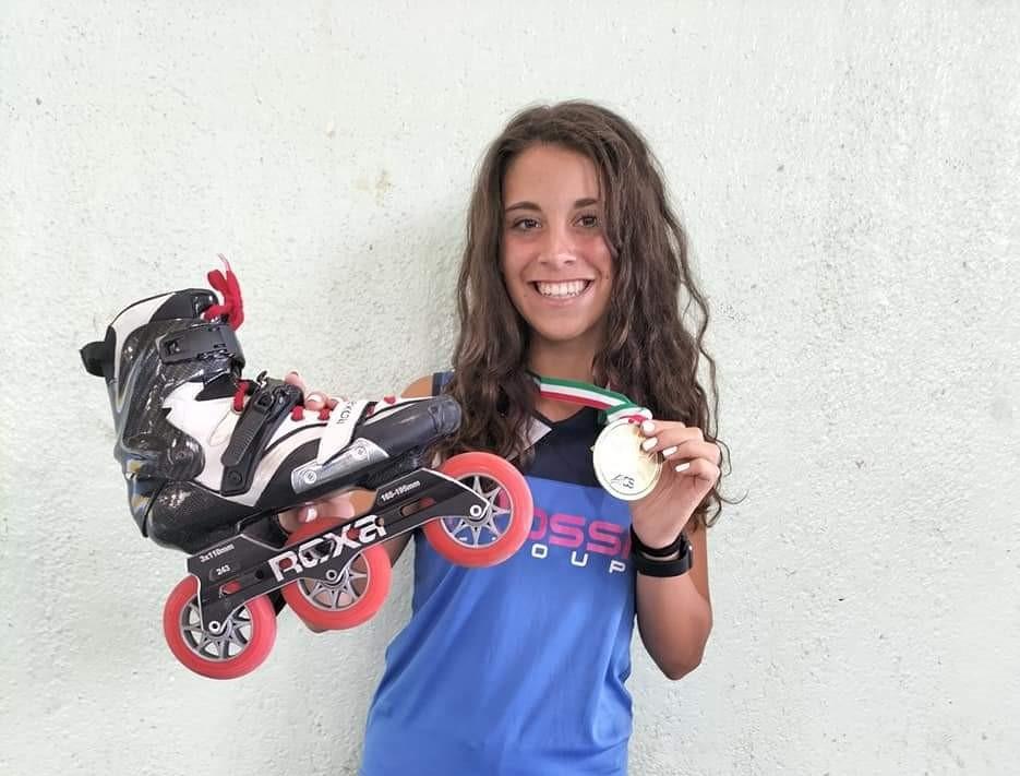 Pattinaggio, la sedicenne condovese Sabrina Vitarelli è in Nazionale