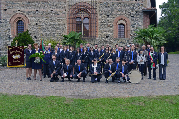 Nuovo labaro per la Società Filarmonica di Villar Dora