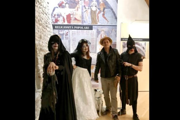 Il 31 ottobre al Castello di Adelaide di Susa ci sarà una visita da… paura