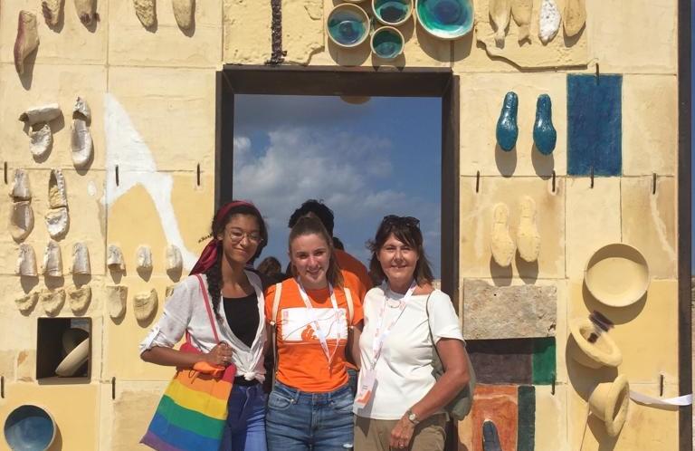 Due studentesse del Pascal di Giaveno a Lampedusa per ricordare le tragedie del mare