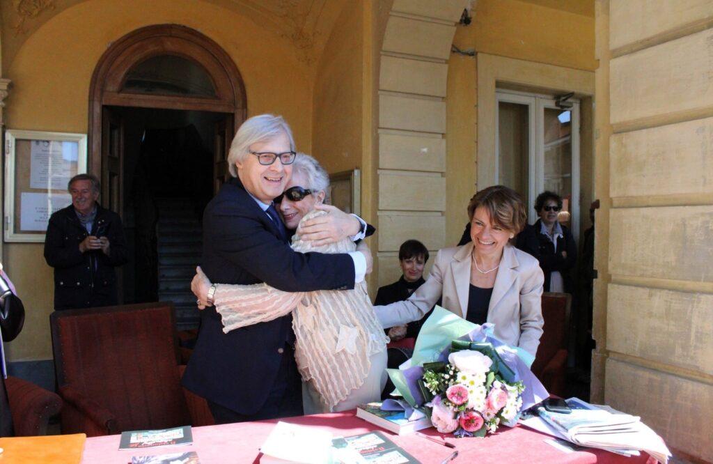 Domenica 24 ottobre Vittorio Sgarbi tornerà a Giaveno