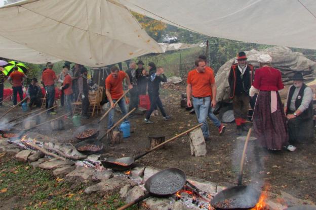 Nel fine settimana del 16 e 17 ottobre torna la Sagra del Marrone a Villar Focchiardo
