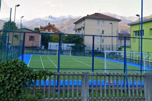 Sant'Ambrogio inaugura il nuovo campo sportivo