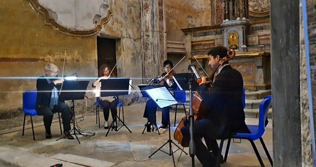 A spasso nel tempo della musica alla chiesa di San Pietro